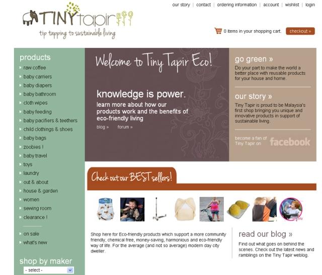 tiny tapir website