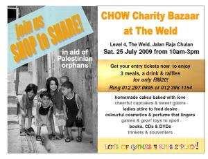Chow Charity Bazaar