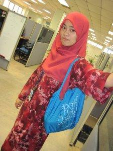 Bag giveaway - entrant